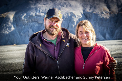 Werner Aschbacher and Sunny Petersen